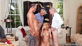 Old man young hairy girl Frannkie And The Gang Tag Team A Door To