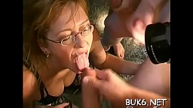 Filling their mouths with milky jizz drive cuties crazy