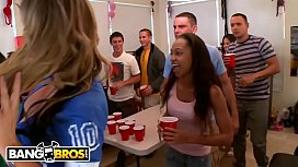 BANGBROS - College Dorm Gets Invaded By Diamond Kitty, Nikki Sexx, Alexis Fawx &amp_ Richelle Ryan
