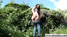 Alone Girl (stacy) Use All Kind Of Things Till Climax vid-23