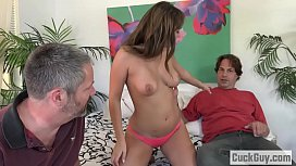Wife Decides to Fuck With Her Hubby'_s Business Partner
