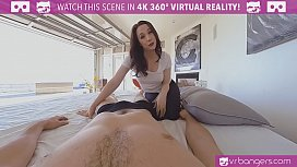 VRBangers.com Sexy Mom Teach Her Young d. How to Please Her Boyfriend