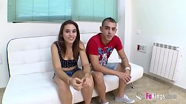 Jordi and Ainara'_s first exchange with an experienced swinger couple
