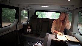 LETSDOEIT - Czech RedHead is Abused in the BackSeat (Kattie Gold)