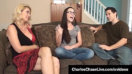 Sex Charged Milf Charlee Chase &amp_ Hubby Fuck Sitter