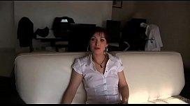 milena debutante francaise en casting
