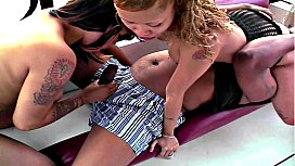 MILF Chyna White & Cream Boat Ride # 1