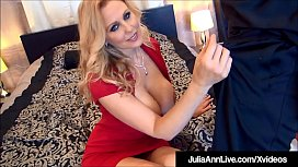 World Famous Milf Julia Ann Fucked By 2 Lucky Cocks!