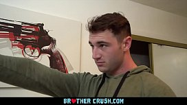 BrotherCrush - Curious Boy Gets His Asshole Punished After Getting Caught Playing With A Gun