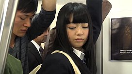My quiet daughter who comes in the train at the time of commutation. I found to