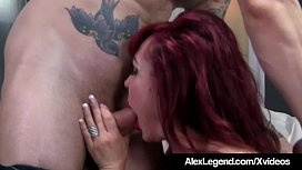 Busty Mature Sexy Vanessa Gets Fucked By Alex Legend!