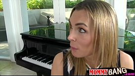 Piano teacher horny threesome with teens