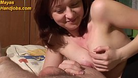 Maya edging with nice ruined orgasm