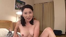 Beauty Milf Japanese Asian Fucks Well Home