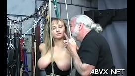 Loads of wicked amatur bondage porn with hawt matures