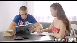 Dangler loving action for hot barely legal russian honey