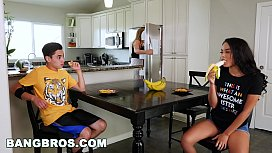 BANGBROS - Black Step Sister Maya Bijou Fucks Brother Juan El Caballo Loco