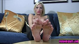 Nikki Rouge puts you into chastity