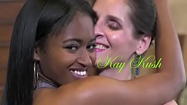 Kay Kush in Interracial Threesome!