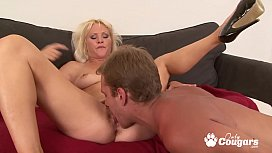 Kathy Anderson Has A Big Load Shot All Over Her Hairy Muff