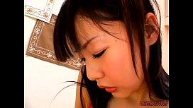 Asian Girl Getting Her Hairy Pussy Fucked With Vibrator And Strapon By Younger G