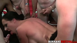 Busty Tiffany Morriss doggystyled while sucking BBC