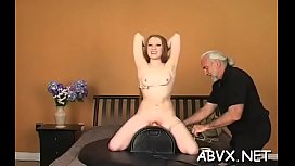 Ravishing maid is a who likes to get fucked hard