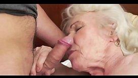fucking my sexy grandma anal