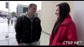 Mighty and skillful dude bangs moist aperture of a seductive babe