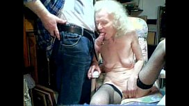 Granny 87 years old Suck boy