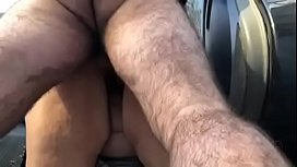 Sexy BBW Slut Outside Teasing You Until You Cum and taking a Pounding