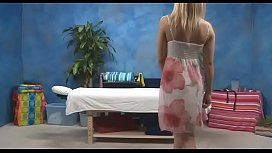 Lovely teen enticed and drilled hard on camera