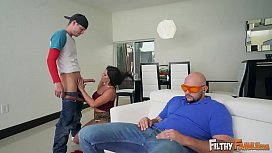 FILTHY FAMILY - Tyler Steel Goes Balls Deep On His Brother Jmac'_s Wife, Diamond Kitty