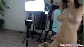 Massage loving babes being interviewed