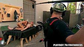 Behind the scenes at Playboy tv