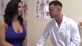Doctor fuck busty patient