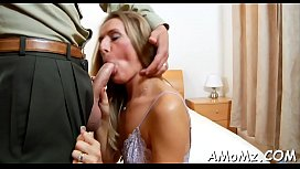 Red hot mommy craves for orgasm