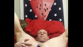Billyfloss fucking his dildo