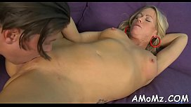 Sultry mom screwed by a sexy stud