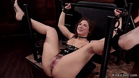 Big booty slave is fucked in bdsm