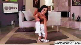 Horny Girl Put Crazy Stuff In Her Holes To Masturbate movie-19
