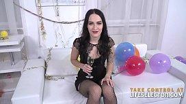 Fucking Sasha Sparrow on New Year'_s Eve POV