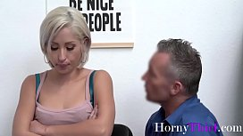 Blonde Teen Gets Fucked By Security For Stealing- Goldie Glock