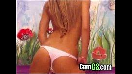 Luvishere Striptease Cumshow - camg8