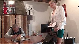 French teacher milf hard sodomized by her student and jizzed on body image