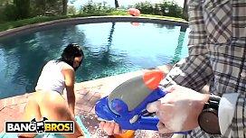 BANGBROS - MILF Monica Santhiago'_s Huge Brazilian Ass Gets Fucked By Dane Cross