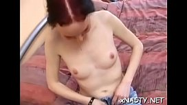 Playgirl actually loves to swallow her lover'_s amazing penis