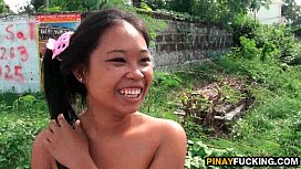 Naughty Asian Amateur Blows Her First Foreigner