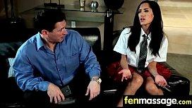 Porno lesbienne orgasme de couchage