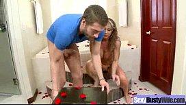 Sexy Housewife (farrah dahl) With Big Juggs Get Hard Sex mov-15